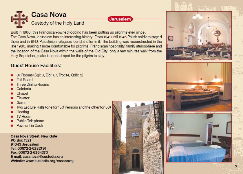 Casa Nova Guest House Jerusalem