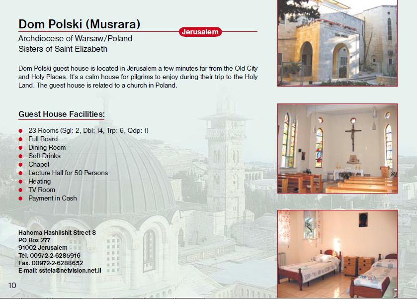 Dom Polski Musrara Guest House Jerusalem
