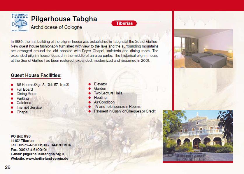 Pilgerhouse Taghba Guest House Jerusalem